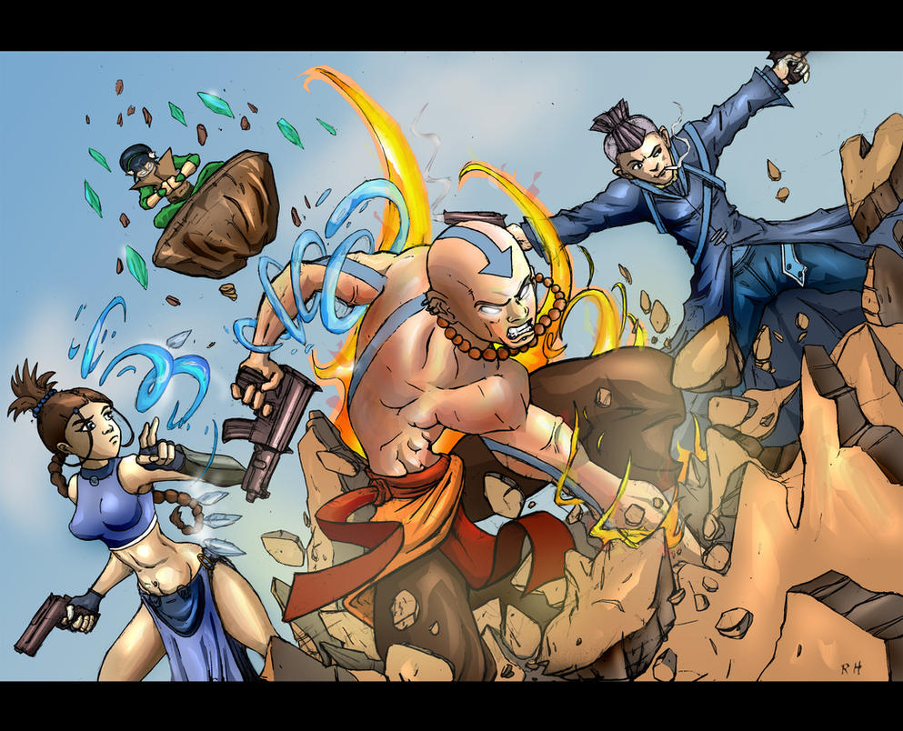 Avatar The Last Bad Ass by dreno360