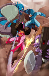 Pinkwing And The Prime-Controller by dreno360