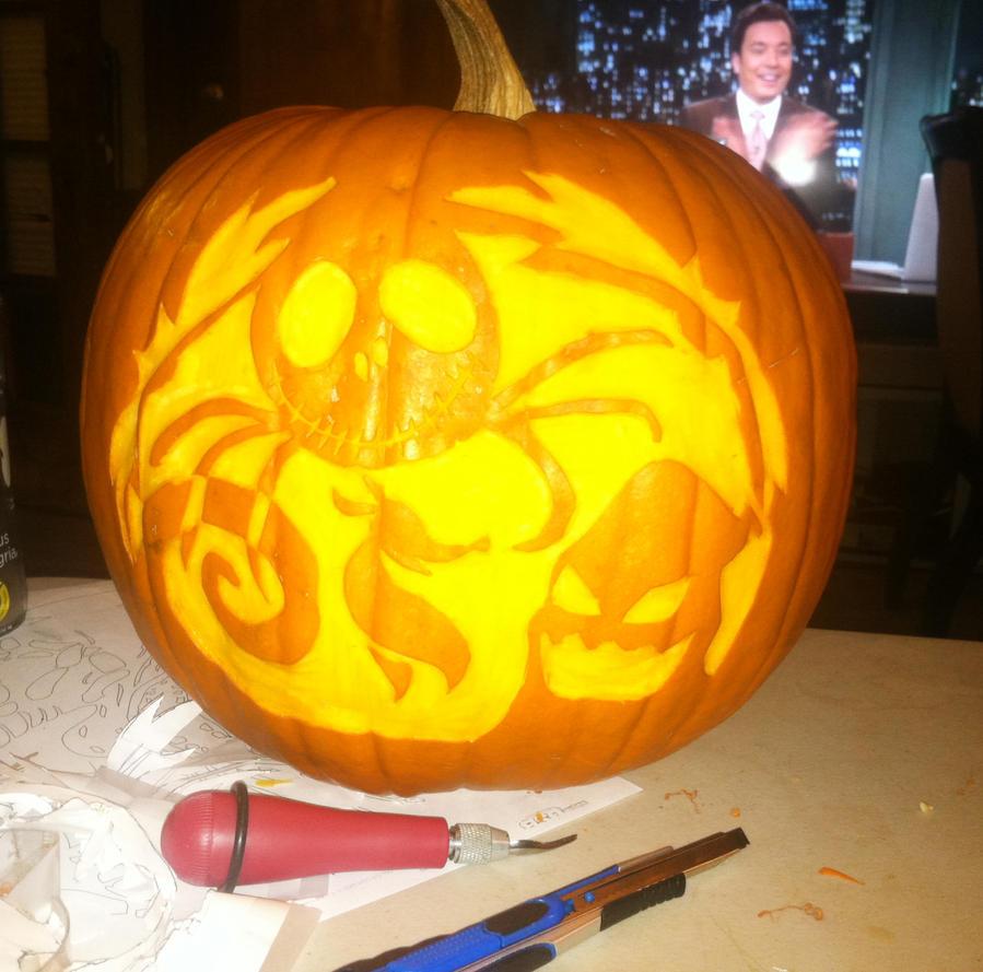 Nightmare Before Christmas Pumpkin Carving by Steponaknee ...