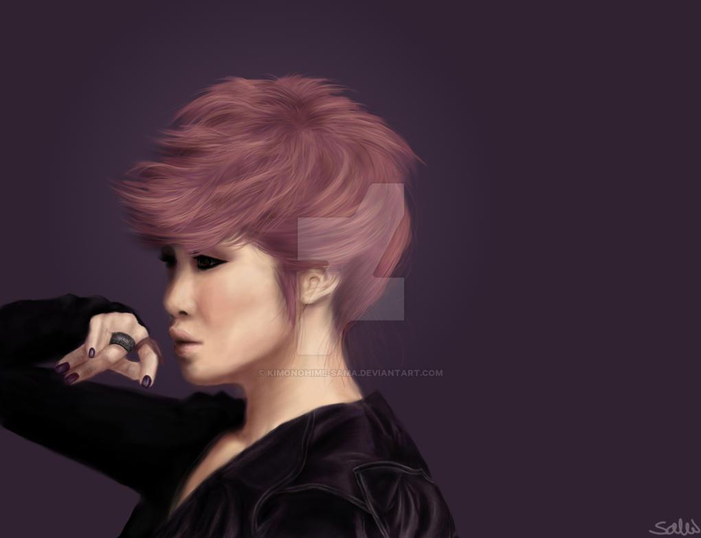 Secret Hyosung portrait - love is move by KimonoHime-Sama ...