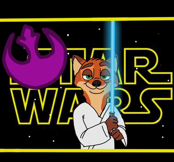 Nick wilde presents a new hope (crossover ) by troodont