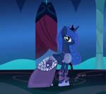 Empress Luna gala dress