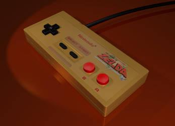 NES Controller - Zelda Edition