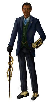 Steampunk Barack Obama