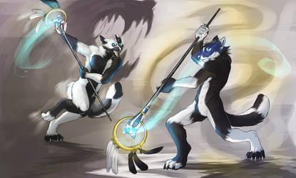 Inner Turmoil by RogueLiger by Keeshanic-Fox