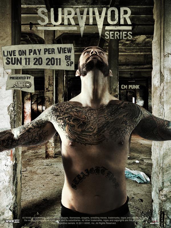 WWE Survivor Series 2011 Poster by MattiaZingale