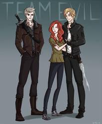 TMI: CoLS - Team Evil by cinash