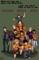 Thanks Uncle Rick by cinash