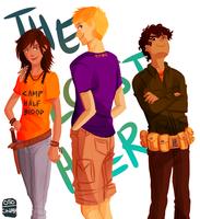 Lost Hero Trio by cinash