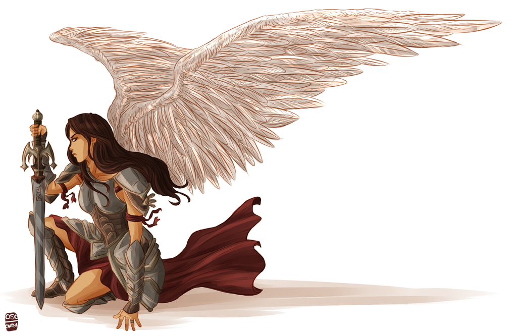 Warrior Angel By Cinash On DeviantArt