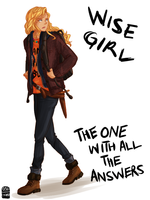 Here's some Annabeth for you by cinash