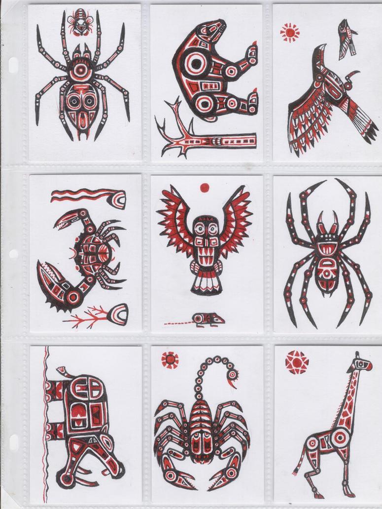 Haida ATC by Agrifex  Haida Animal Tattoos