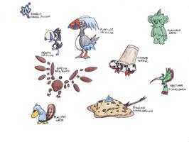 Random Sado Fakemon 1 by Tomatem13