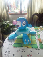 Popplio built by Johan Hernandez by RavaMaster
