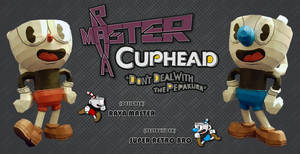 Cuphead and Mugman - Papercraft (DOWNLOAD)
