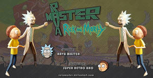 Rick and Morty - Papercraft (DOWNLOAD)