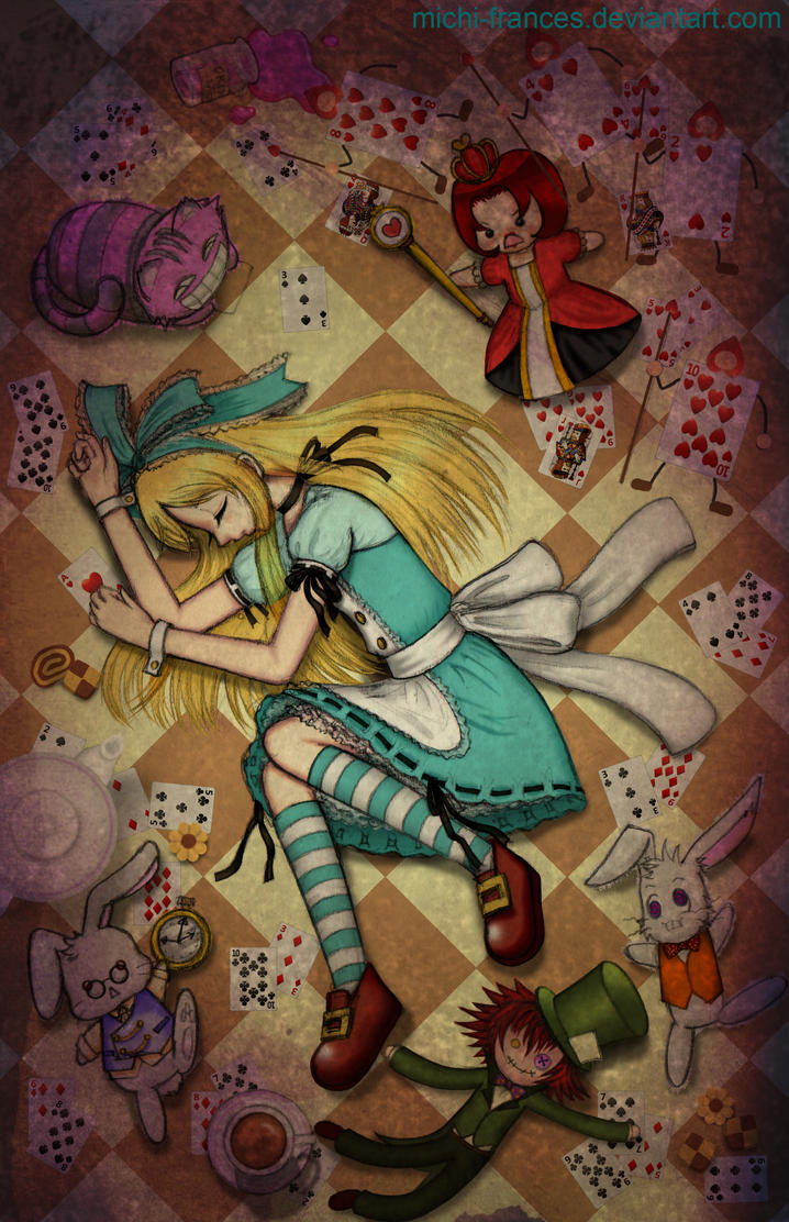 Sleeping Alice by michi-frances