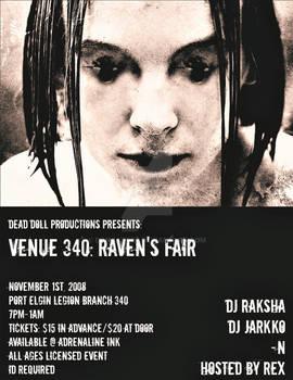 Raven's Fair Poster Design Two.