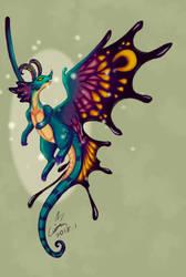 Fairy Dragon by DracoLuvian