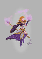 Mage by DracoLuvian
