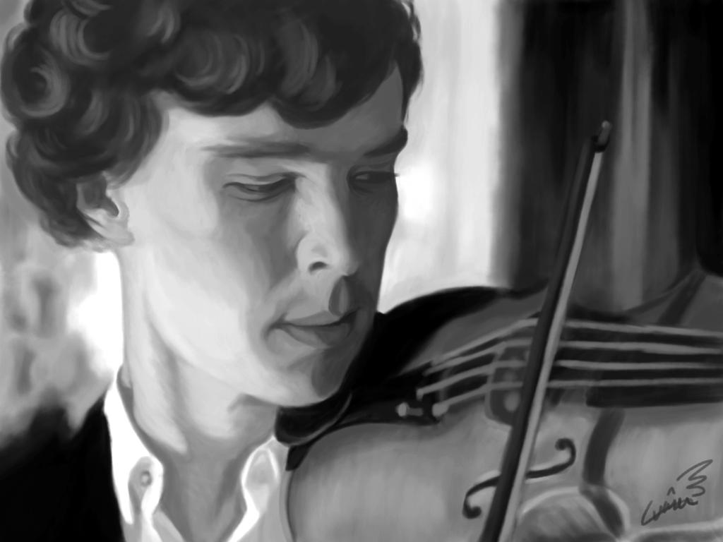 Sherlock by DracoLuvian