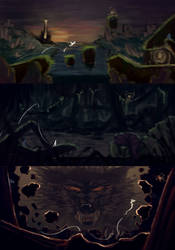 Game level Concept - Never Ending Story