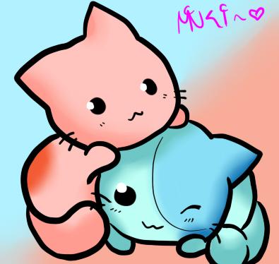 Nice Chibi Cats By MinkiChan ...