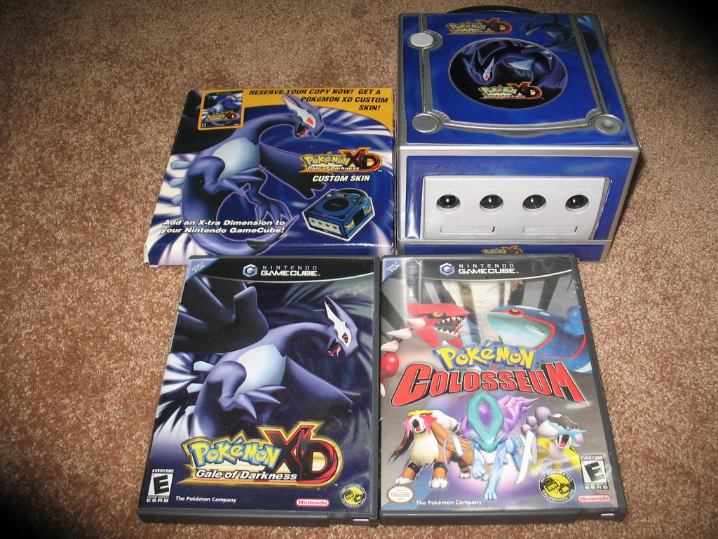 Pokemon xd gale of darkness usa commercial pokemon - Gamecube pokemon xd console ...