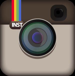 Instagram Vector Logo Icon by butlertotheb