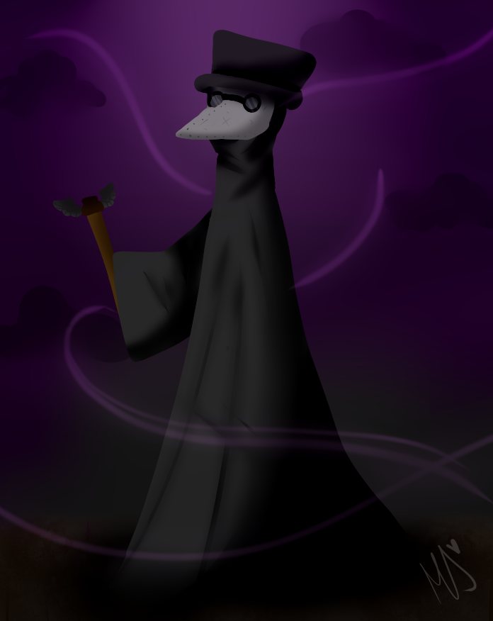 The Plague doctor by Duckicorn-Chan
