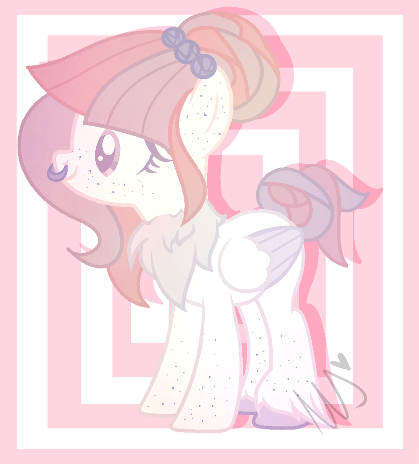 MLP : Pastel Goth inspired Pony (BASE) by Duckicorn-Chan