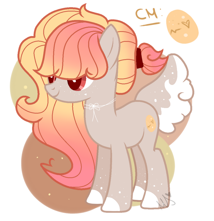 Easter inspired pony by Duckicorn-Chan