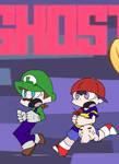 Ness and Luigi-Waaaaaa