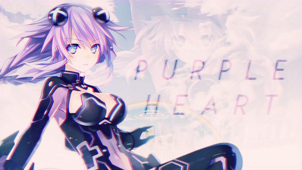 Hyperdimension Neptunia Purple Heart Wallpaper By Pumpkin Pai
