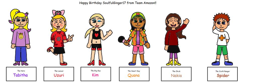 Cragmite Park-Team Amazon (Happy Birthday Brian!) by AnOptimisticSnarker