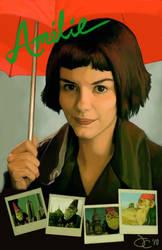 Movie Poster - Amelie by greyviolett