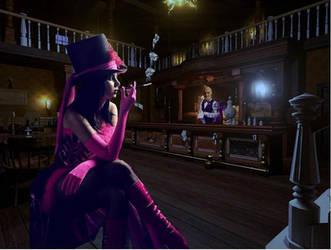 Saloon Girl by glenn42558