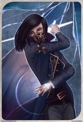 Dishonored II: Emily Kaldwin by R-Aters