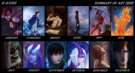 2018 Summary Of Art by R-Aters