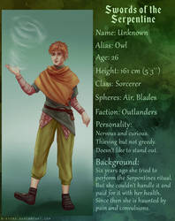 Character sheet: Owl by R-Aters