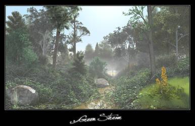 Green Stream by c-ramgfx