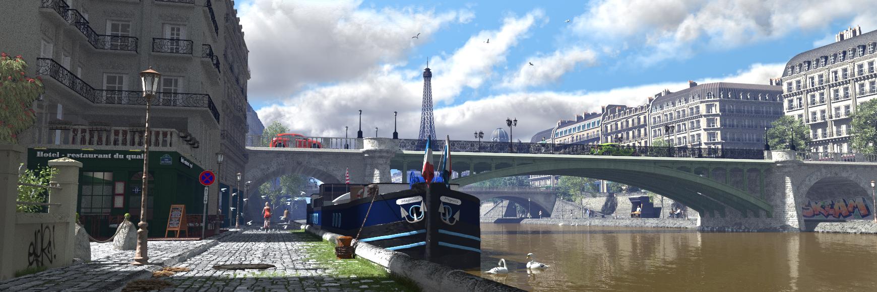 Paris by c-ramgfx
