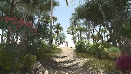 Waves path by c-ramgfx