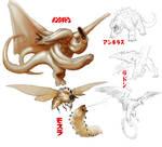 kaiju redesign concepts