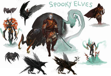All Hallow's Elves by SirHanselot