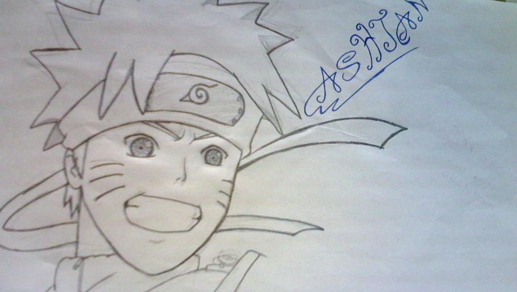 Naruto shippuden drawing by ashjan20 by ashjan20