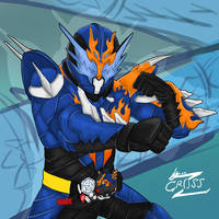 Kamen Rider Cross-Z by Achscooler