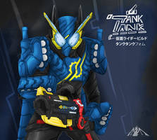 Kamen Rider Build Tank Tank Form by Achscooler