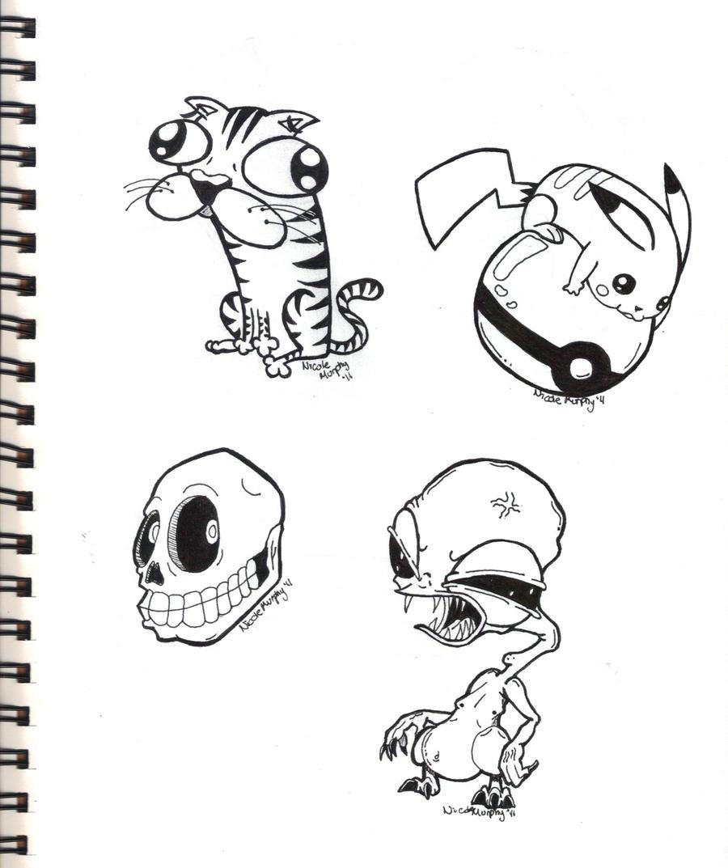 Inked Sketch 7-17-11 by xXxSkullsxXx