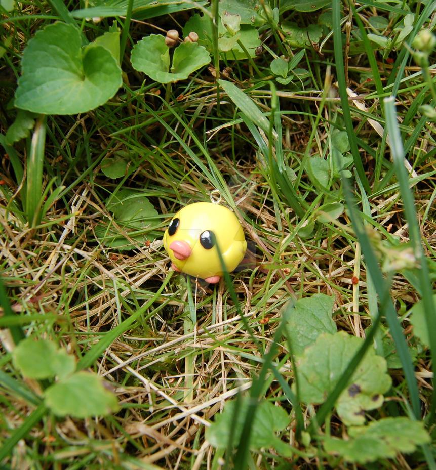 Ducky in the Grass by xXxSkullsxXx